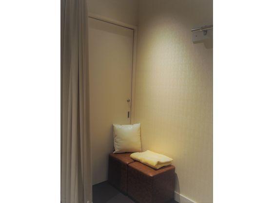 女性更衣室にも授乳でご利用いただけるスペースがございます