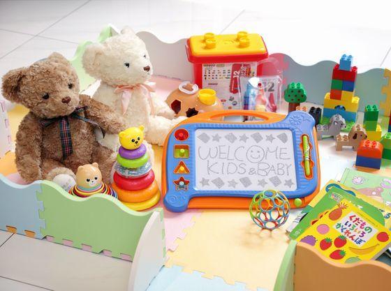 キッズスペース おもちゃ・絵本ご用意しております