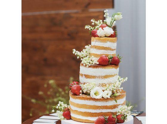 ウェディングケーキは完全オリジナル♪パティシエと直接打合せ