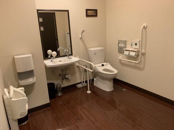 多目的トイレは館内3か所