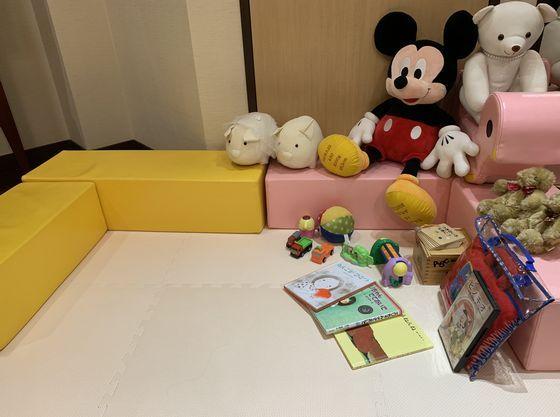 おもちゃ・絵本・DVDをご用意 お子様が退屈することなく安心
