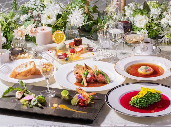 五感で楽しめる美食のフルコースをご堪能下さい♪